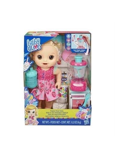 Hasbro E6943 Baby Alive Sarışın Bebeğim Ve Sihir Mikseri Renkli